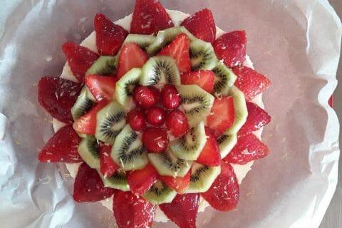 Tarte aux fraises sans cuisson Thermomix par Jomaze