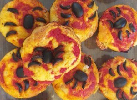 Muffins salés façon pizza Thermomix par Jomaze