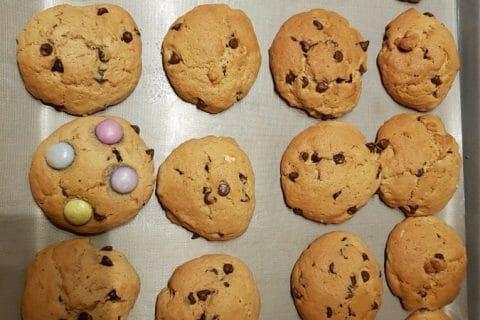 Cookies beurre de cacahuète et pépites de chocolat Thermomix par EminaLi