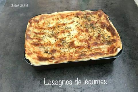 Lasagnes de légumes Thermomix par NONO67