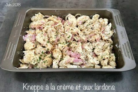 Knepps à la crème et aux lardons Thermomix par NONO67