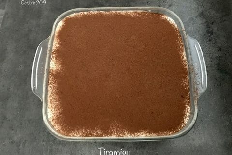 Tiramisù, l'original au Thermomix