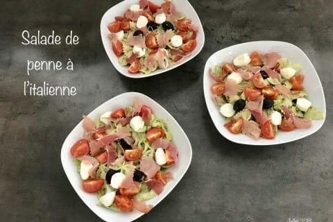 Salade de penne à l'italienne Thermomix par NONO67