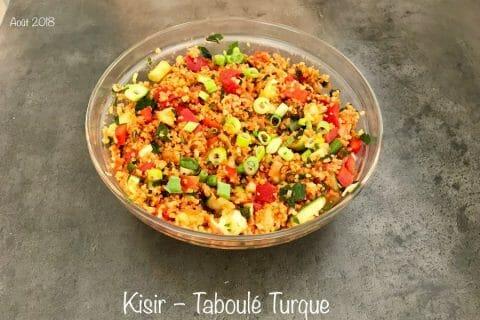 Kisir – Taboulé Turque Thermomix par NONO67