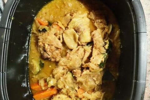 Tajine de poulet aux olives Thermomix par pascale B.