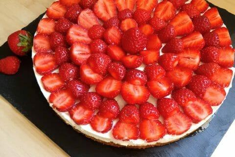 Tarte aux fraises sans cuisson au Thermomix
