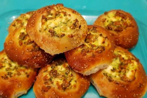 Poğaça – Petits pains Turcs à la Feta Thermomix par Aurore 👩🏽🍳