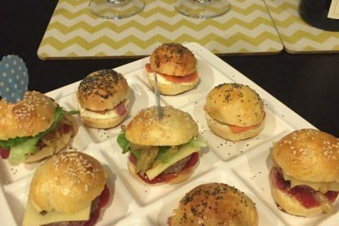 Mini burgers Thermomix par Laetitia Bangkok