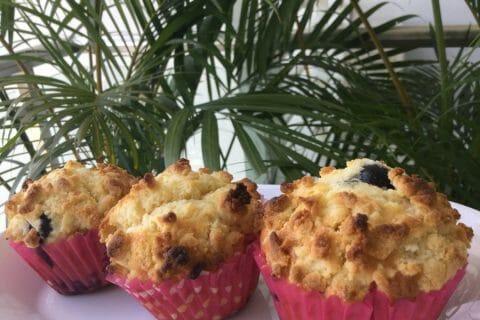 Muffins aux myrtilles Thermomix par Laetitia Kuala Lumpur