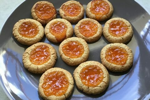Biscuits à la confiture – Jam drops Thermomix par Glougloumiammiam