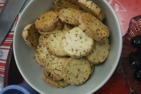 Biscuits apéritif crème et oignon Thermomix par Ileria