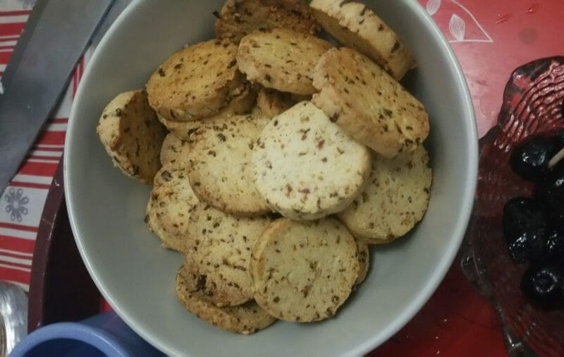 Biscuits ap ritif cr me et oignon au thermomix cookomix - Congeler de la creme fraiche ...