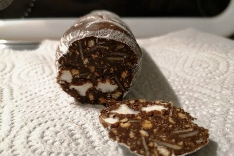 Saucisson au chocolat au Thermomix