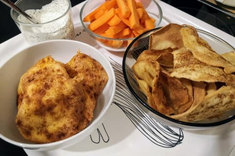 Les vraies fausses chips au Thermomix