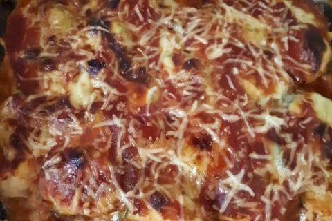 Aubergines à la parmesane Thermomix par cathy94