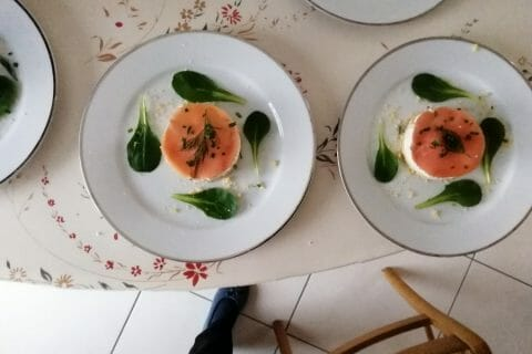 Cheesecake au saumon sans cuisson au Thermomix