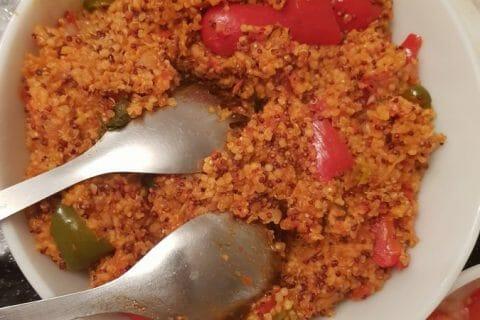 Quinoa sauce basquaise Thermomix par Roumaissa