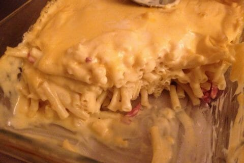 Mac and cheese Thermomix par Hippolu
