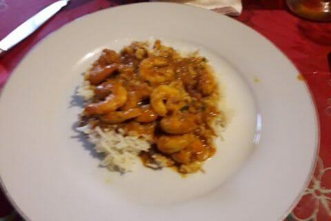 Curry de crevettes au lait de coco Thermomix par Durzunelle