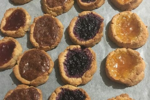 Biscuits à la confiture – Jam drops au Thermomix