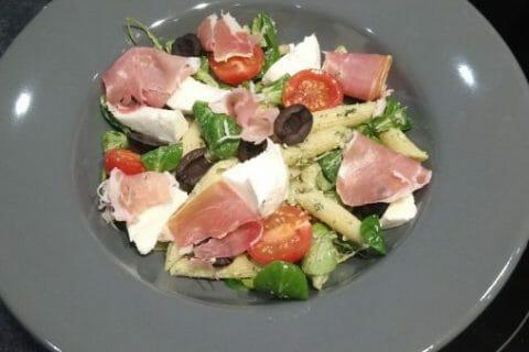 Salade de penne à l'italienne Thermomix par Cindy35