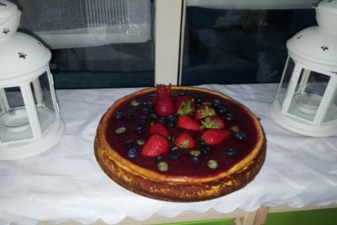 Cheesecake New-Yorkais Thermomix par Mouniatoune