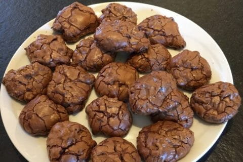 Cookies brownies Thermomix par thermieve