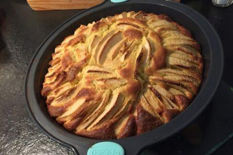 Gâteau aux pommes et mascarpone Thermomix par thermieve