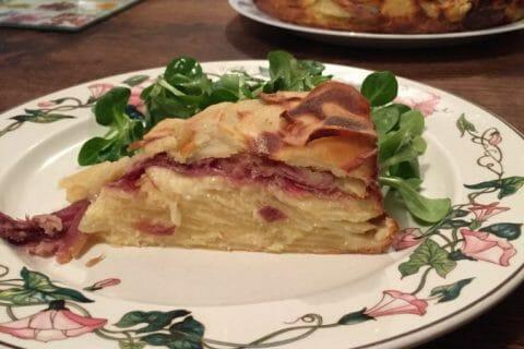 Gâteau invisible raclette Thermomix par thermieve