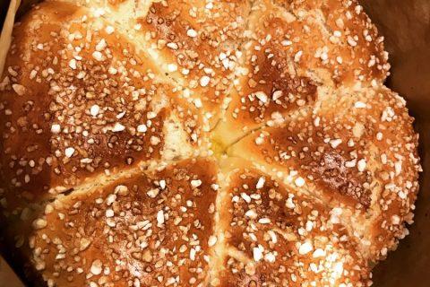Brioche sans beurre, sans oeufs Thermomix par Noura84