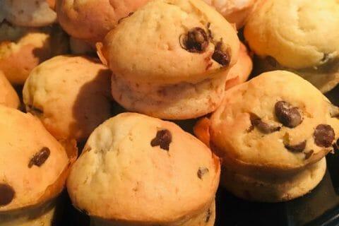 Muffins aux pépites de chocolat Thermomix par sherinette