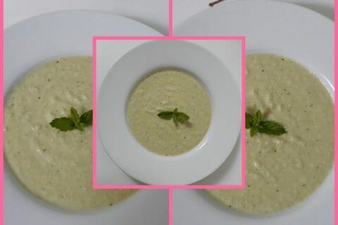 Soupe froide concombre et menthe Thermomix par Antou